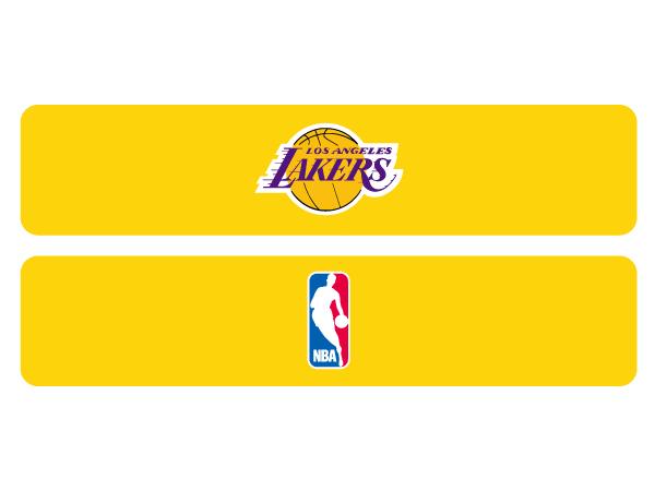 NBAヘアバンド (バスケットボール アクセサリー・グッズ ヘアーバンド・リストバンド)LAKERS(NBA74359)【スポーツ用品 > チーム スポーツ > バスケットボール】【GALLERY・2】/NBAHAIRBAND