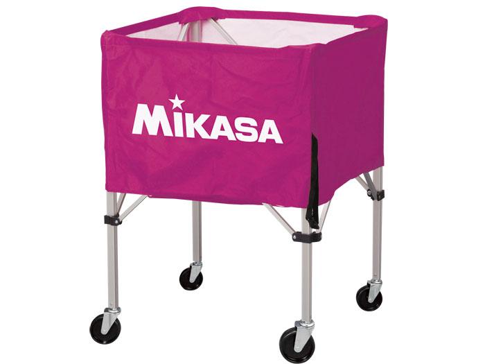 MIKASA ワンタッチ式ボ-ルカゴ(背高) (バスケットボール ボール アクセサリー・グッズ)バイオレッド(V)【スポーツ用品 > チーム スポーツ > バスケットボール】【MIKASA/ミカサ】/BCSPH