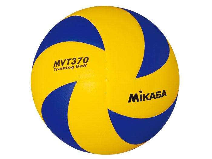 MIKASA トレーニングボール5号 (バレーボール ボール その他・グッズ)イエロー×ブルー【スポーツ用品 > チーム スポーツ > バレーボール】【MIKASA/ミカサ】/MVT370