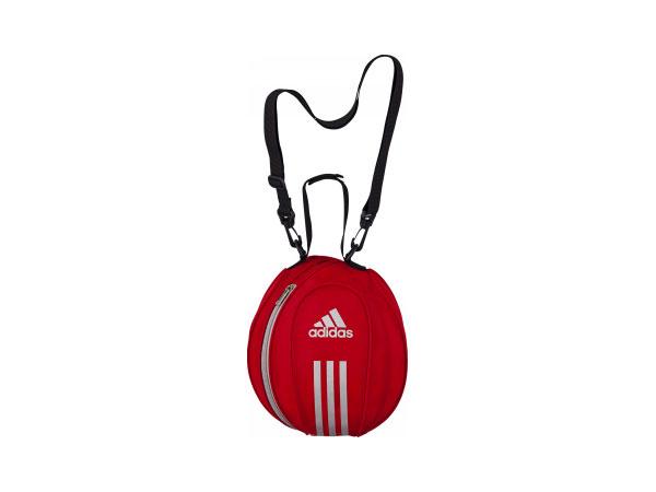 adidas ボールバッグ1個入れ (フットサル&サッカー ボール ボールバッグ)レッド【スポーツ用品 > チーム スポーツ > サッカー】【adidas/アディダス】/AKM15R