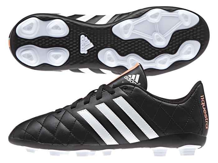 adidas パティーク11クエストラ AI1 J (フットサル&サッカー レディス&ジュニア フットサル&サッカーシューズ)コアブラック×ランニングホワイト×フラッシュオレンジ S15【スポーツ用品 > チーム スポーツ > サッカー】【adidas/アディダス】/B44219