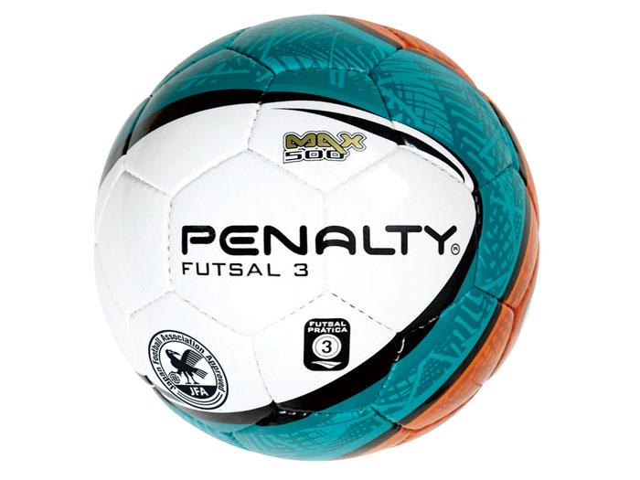 PENALTY フットサルボール3号球 (フットサル&サッカー ボール フットサルボール)ホワイト×オレンジ(1050)【スポーツ用品 > チーム スポーツ > サッカー】【PENALTY/ペナルティ】/PE4730