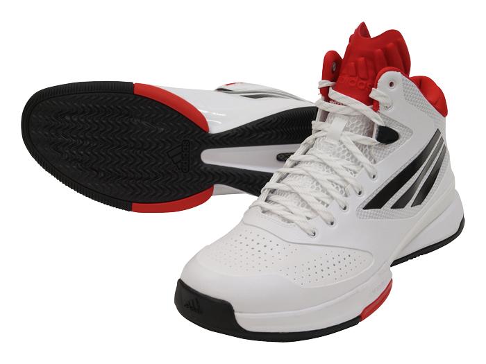 adidas adizero Bash 6 (バスケットボール バスケットボールシューズ シューズ)ランニングホワイト×コアブラック×スカーレット【スポーツ用品 > チーム スポーツ > バスケットボール】【adidas/アディダス】/C77869