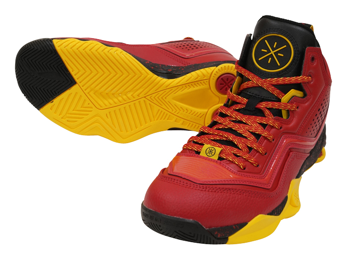 LI-NING WADE FISSION 1 (バスケットボール バスケットボールシューズ シューズ)クリムゾン×イエロー(3)【スポーツ用品 > チーム スポーツ > バスケットボール】【LI-NING/リーニン】/ABFK005