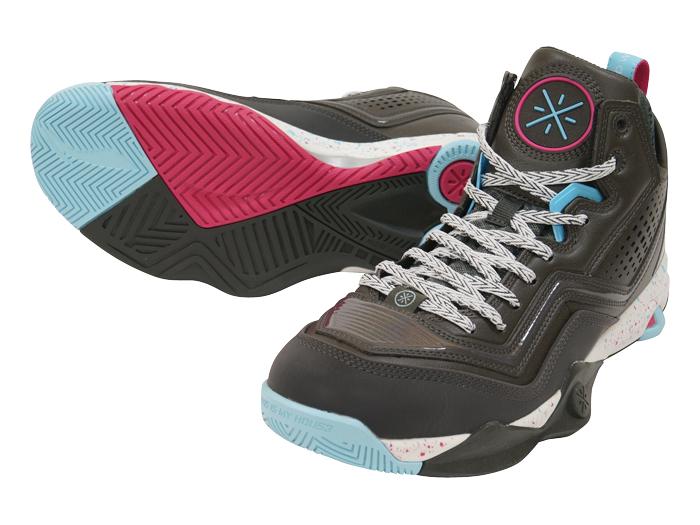 LI-NING WADE FISSION 1 (バスケットボール バスケットボールシューズ シューズ)ブラック×ブルー(4)【スポーツ用品 > チーム スポーツ > バスケットボール】【LI-NING/リーニン】/ABFK005