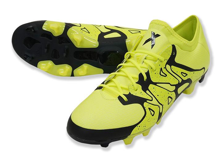 adidas エックス15.1ージャパン HG (フットサル&サッカー シューズ スパイク)ソーラーイエロー/コアブラック/フローズンイエロー F15【スポーツ用品 > チーム スポーツ > サッカー】【adidas/アディダス】/S83166