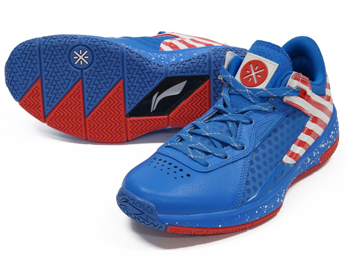 LI-NING WADE 0808 LOW (バスケットボール バスケットボールシューズ シューズ)BLUE/RED【スポーツ用品 > チーム スポーツ > バスケットボール】【LI-NING/リーニン】/ABAK021