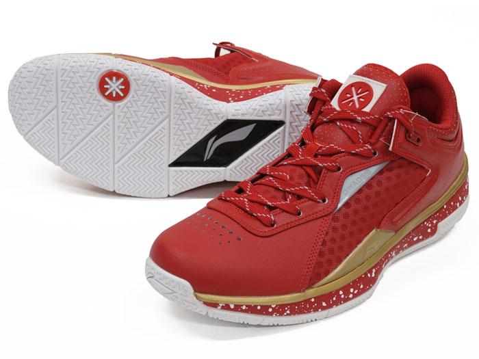 LI-NING WADE 0808 LOW (バスケットボール バスケットボールシューズ シューズ)RED/GOLD【スポーツ用品 > チーム スポーツ > バスケットボール】【LI-NING/リーニン】/ABAK021