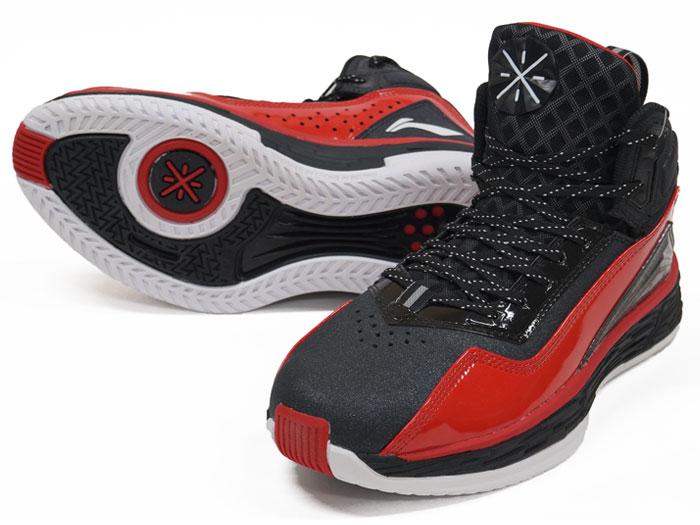 LI-NING WADE FISSION 2 (バスケットボール バスケットボールシューズ シューズ)BLACK/RED【スポーツ用品 > チーム スポーツ > バスケットボール】【LI-NING/リーニン】/ABFK011