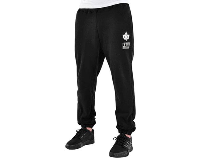 K1X o.d. tag sweatpants (バスケットボール トレーニングウェアー スウェット)ブラック×ホワイト(0010)【スポーツ用品 > チーム スポーツ > バスケットボール】【K1X/ケイワンエックス】/1500-0109