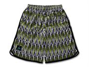 Arch Arch mosaic striped shorts