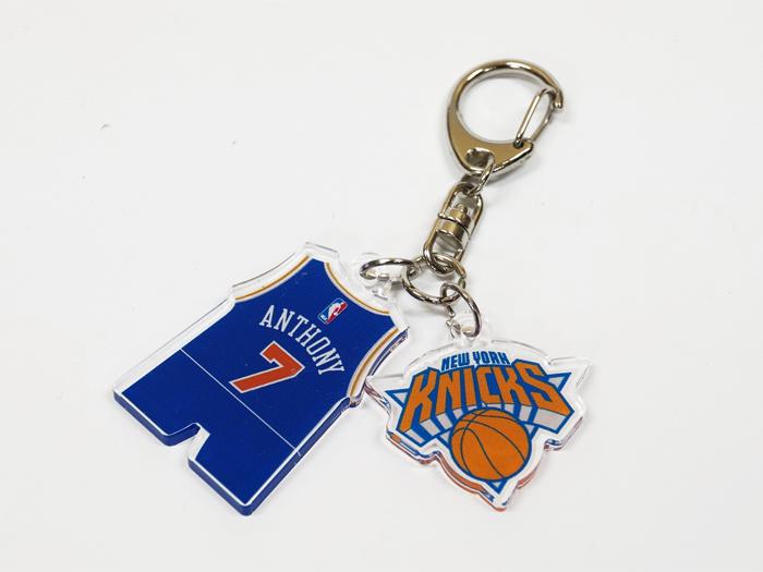 NBA アクリル2連チャーム KNICKS #7 (バスケットボール NBA アクセサリー・グッズ)KNICKS #7【スポーツ用品 > チーム スポーツ > バスケットボール】【GALLERY・2】/NBA29950
