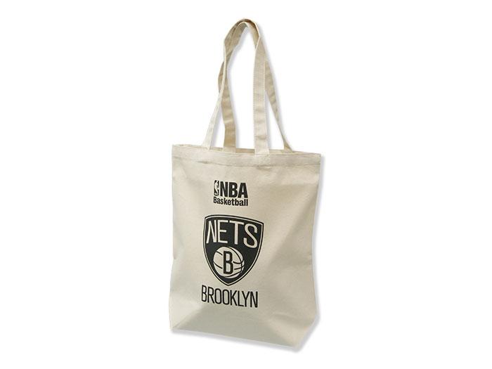 NBA キャンバストートバッグ(M) NETS (バスケットボール NBA アクセサリー・グッズ)NETS【スポーツ用品 > チーム スポーツ > バスケットボール】【GALLERY・2】/NBA29968