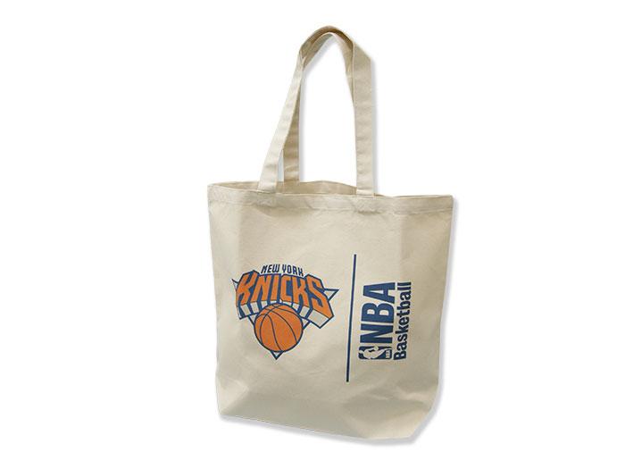NBA キャンバストートバッグ(L) KNICKS (バスケットボール NBA アクセサリー・グッズ)KNICKS【スポーツ用品 > チーム スポーツ > バスケットボール】【GALLERY・2】/NBA29970