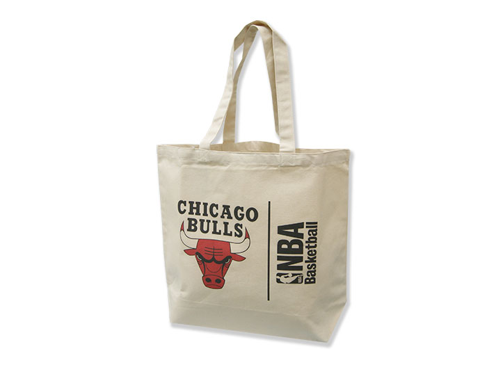 NBA キャンバストートバッグ(L) BULLS (バスケットボール NBA アクセサリー・グッズ)BULLS【スポーツ用品 > チーム スポーツ > バスケットボール】【GALLERY・2】/NBA29973