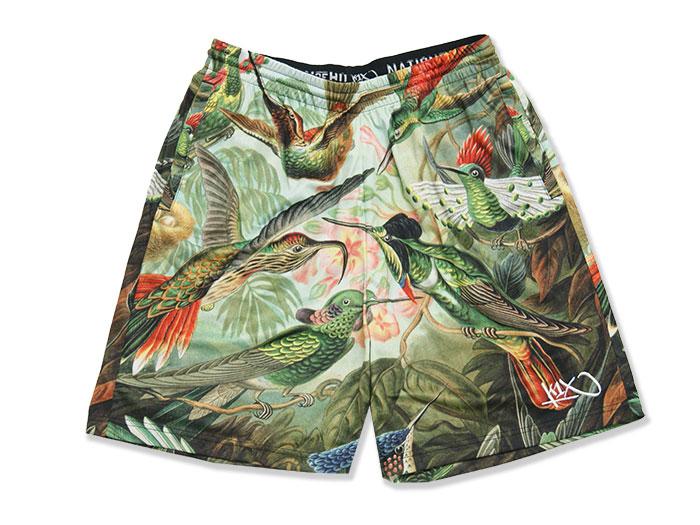 K1X Bird Gnarly Shorts (バスケットボール プラクティスウェアー プラクティスパンツ)MULTI【スポーツ用品 > チーム スポーツ > バスケットボール】【K1X/ケイワンエックス】/4152-4100