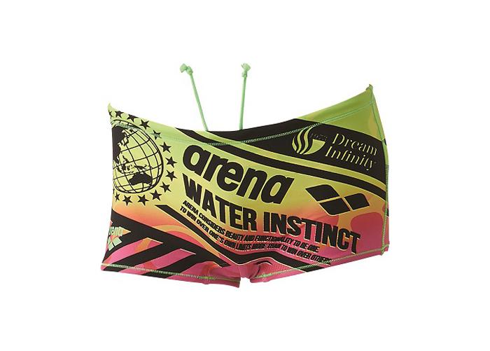arena ショートボックス (その他スポーツ スイミング スイムウェアー)グリーン×ピンク(GNPK)【スポーツ用品 > チーム スポーツ > ハンドボール】【arena/アリーナ】/SAR-6109