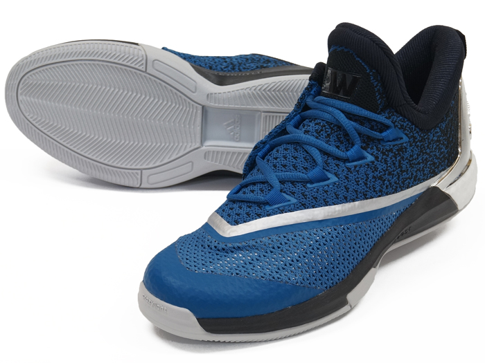 adidas CRAZYLIGHT BOOST 2.5 LOW (バスケットボール バスケットボールシューズ シューズ)キャピタルブルー/コアブラック/ランニングホワイト【スポーツ用品 > チーム スポーツ > バスケットボール】【adidas/アディダス】/AQ8469