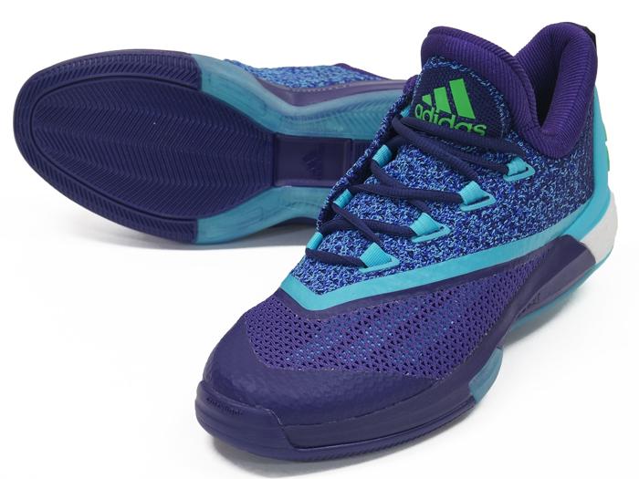 adidas CRAZYLIGHT BOOST 2.5 LOW (バスケットボール バスケットボールシューズ シューズ)ダークパープル/ブルーグロー S16/ショックピンク S16【スポーツ用品 > チーム スポーツ > バスケットボール】【adidas/アディダス】/F37147
