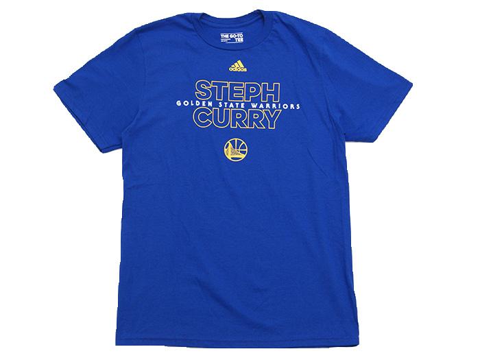 adidas NBA Awakens T (バスケットボール Tシャツ NBA)STEPH CURRY(BLUE)【スポーツ用品 > チーム スポーツ > バスケットボール】【adidas/アディダス】/3720A-201603