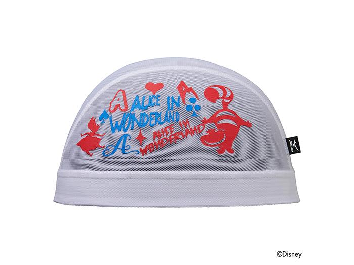 MIZUNO 【ALICE in Wonderland】メッシュキャップ (その他スポーツ スイミング スイムキャップ)ホワイト(01)【スポーツ用品 > チーム スポーツ > ハンドボール】【MIZUNO/ミズノ】/N2JW658001