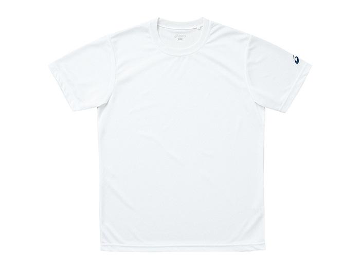 ASICS Tシャツ (バレーボール プラクティスウェアー メンズ半袖Tシャツ)ホワイト(01)【スポーツ用品 > チーム スポーツ > バレーボール】【ASICS/アシックス】/XA6139