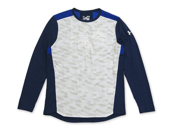 UNDER ARMOUR SC30シューティングシャツLS (バスケットボール プラクティスウェアー 半袖Tシャツ)ホワイト(WHT)【スポーツ用品 > チーム スポーツ > バスケットボール】【UNDER ARMOUR/アンダーアーマー】/MBK3867