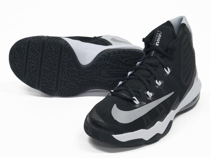NIKE AIR MAX AUDACITY 2016 GS (バスケットボール バスケットボールシューズ レディス&ジュニアにオススメ)Black/Reflect Silver-WHITE-Pure Platinum(002)【スポーツ用品 > チーム スポーツ > バスケットボール】【NIKE/ナイキ】/859381