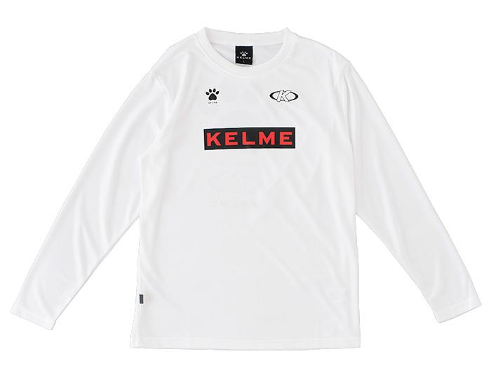 KELME ロングTシャツ (フットサル&サッカー プラクティスウェアー 長袖プラシャツ)ホワイト(06)【スポーツ用品 > チーム スポーツ > サッカー】【KELME/ケルメ】/KCX141