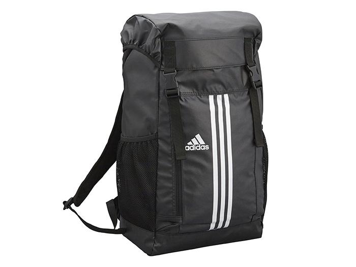 adidas 3 ストライプス Basic バックパック (フットサル&サッカー アクセサリー・グッズ お買い得品)ブラック×ホワイト【スポーツ用品 > チーム スポーツ > サッカー】【adidas/アディダス】/AP3248