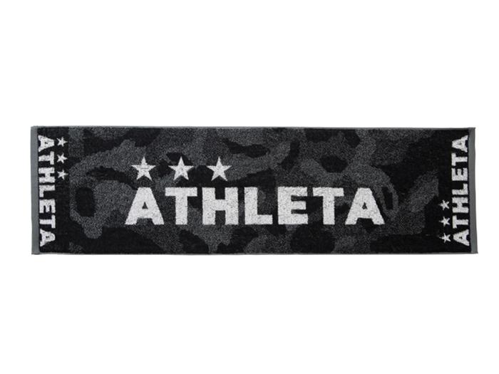 ATHLETA スポーツタオル (フットサル&サッカー アクセサリー・グッズ タオル)ブラック(BLK)【スポーツ用品 > チーム スポーツ > サッカー】【ATHLETA/アスレタ】/5202