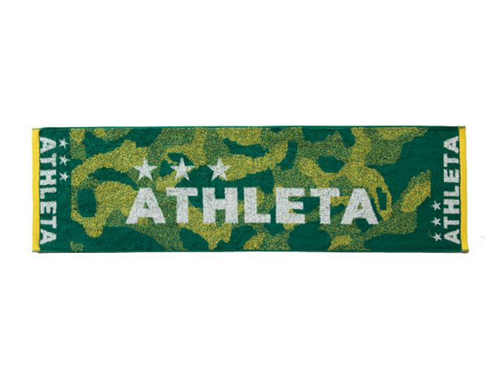 ATHLETA スポーツタオル (フットサル&サッカー アクセサリー・グッズ タオル)Kグリーン(KGR)【スポーツ用品 > チーム スポーツ > サッカー】【ATHLETA/アスレタ】/5202